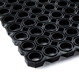Rubber Ring Mat 150 x 100 cm - Heavy duty