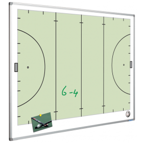 Printed Whiteboard - Hockey Pitch - 120 x 90 cm