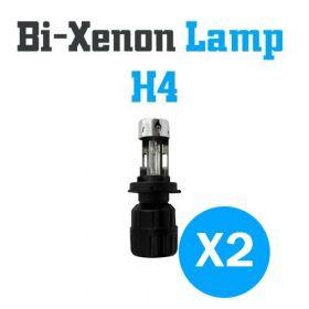Bi-Xenon Lampen H4 - SET
