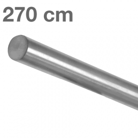 Handrail - Brushed Stainless Steel - 270 cm