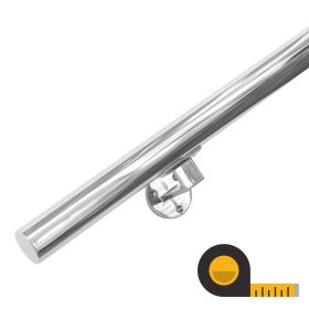 Handrail - Made to Order - Stainless Steel (+ Wall Brackets)