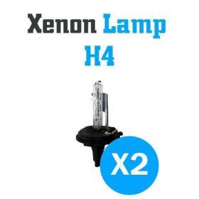 Xenon Lampen H4 - SET